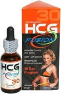 DROPPED: HCG Fusion 30 Day Program Homeopathic Professional Grade HCG - 1 oz. CLEARANCE PRICED