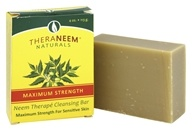 TheraNeem Organix Cleansing Bar For Sensitive Skin Maximum Strength