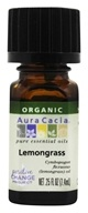 Aura Cacia - Essential Oil Organic Lemongrass -
