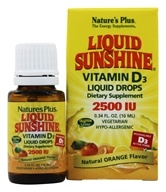 Liquid Sunshine Vitamin D3 Liquid Drops
