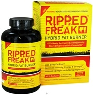 DROPPED: Ripped Freak Hybrid Fat Burner - 60 Capsules CLEARANCE PRICED