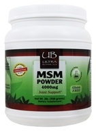 Ultra Botanicals - MSM Powder Joint Support -