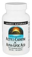 Acetyl L-Carnitine & Alpha-Lipoic Acid For Cellular Vitality