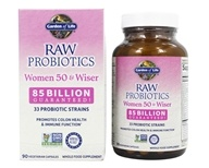 Garden of Life - RAW Probiotics Women 50 & Wiser - 90 Vegetarian Capsules