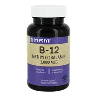 MRM - B12 Methylcobalamin Sublingual Orange 2000 mcg.
