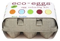 Eco-Eggs Easter Egg Coloring & Grass Growing Kit