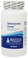 Biotics Research - Intenzyme Forte Proteolytic Enzyme Supplement