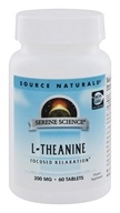 Source Naturals - L-Theanine 200 mg. - 60