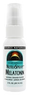 Source Naturals - NutraSpray Melatonin Natural Orange 1.5