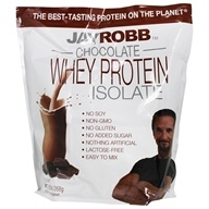 Jay Robb - Whey Protein Isolate Powder Chocolate - 80 oz.