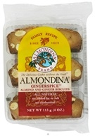 Almondina - Gingerspice Almond and Ginger Biscuits -