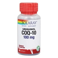 Solaray - Ubiquinol CoQ-10 Enhanced Absorption 100 mg.