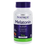 Natrol - Melatonin Fast Dissolve Strawberry 5 mg.