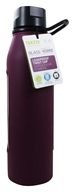 Takeya USA - Classic Glass Water Bottle Purple