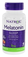 Natrol - Melatonin Fast Dissolve Strawberry 3 mg.
