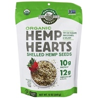 Hemp Hearts Organic Raw Shelled Hemp Seeds