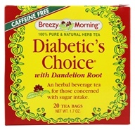 Diabetic's Choice Herb Tea 100% Pure & Natural Caffeine Free