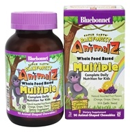 Bluebonnet Nutrition - Super Earth Rainforest Animalz Whole