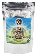 Raw Organic Dehydrated Alfalfa Grass Juice Powder