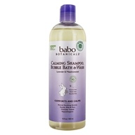 Babo Botanicals - Calming Shampoo, Bubble Bath &