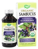 Nature's Way - Organic Sambucus Syrup Elderberry -
