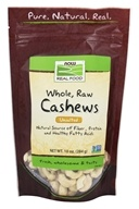 NOW Foods - Whole Cashews Raw Unsalted -