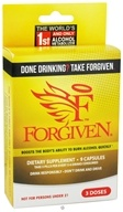 DROPPED: Forgiven Alcohol Metabolizer - 9 Capsules CLEARANCE PRICED