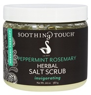 Soothing Touch - Herbal Salt Scrub Invigorating Peppermint