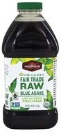 Organic Fair Trade Raw Blue Agave
