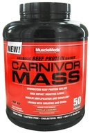 DROPPED: Carnivor Mass Anabolic Beef Protein Gainer Vanilla Caramel - 6 lbs. CLEARANCE PRICED