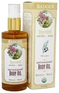 Badger - Body Oil Antioxidant Unscented with Olive