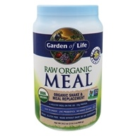 RAW Meal Organic Shake & Meal Replacement Vanilla - 34.2 oz.