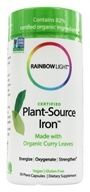 Rainbow Light - Certified Organic Plant-Source Iron -