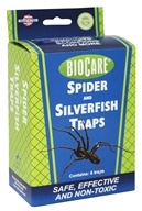 BioCare Spider and Silverfish Traps- 6 Traps