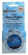 Organic Shea Butter Tin with Vitamin E