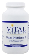 Vital Nutrients - Osteo-Nutrients II with Vitamin K2-7