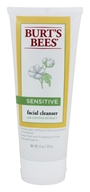 Burt's Bees - Sensitive Facial Cleanser with Cotton