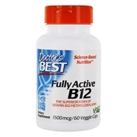 Doctor's Best - Best Fully Active B12 1500
