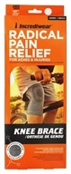 Radical Pain Relief Knee Brace Unisex Medium 12-14 Inches