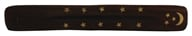 Triloka - Wooden Incense Holder Moon & Stars