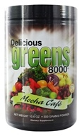 Greens World - Delicious Greens 8000 Mocha Cafe