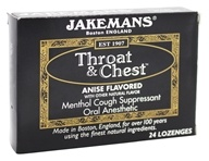 Throat & Chest Menthol Cough Suppressant Oral Anesthetic Lozenges