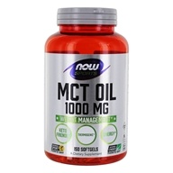 NOW Foods - MCT Oil 1000 mg. -