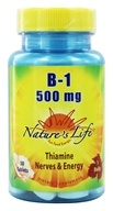 Nature's Life - Vitamin B-1 500 mg. -