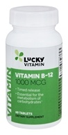 LuckyVitamin - Vitamin B-12 Timed Release 1000 mcg. - 60 Tablets