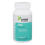 LuckyVitamin - Zinc 50 mg. - 100 Tablets