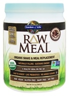 RAW Meal Organic Shake & Meal Replacement Chocolate Cacao - 17.4 oz.