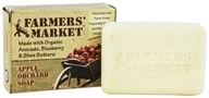Farmers' Market - Organic Bar Soap Apple Orchard