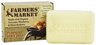 Farmers' Market - Organic Bar Soap Pumpkin Spice