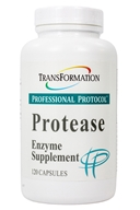 Transformation Enzymes - Protease - 120 Capsules